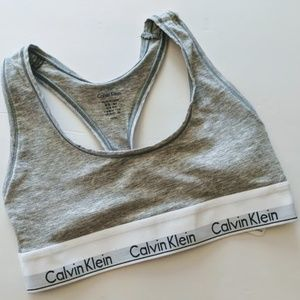 Calvin Klein sports bra size x small